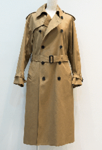 HYKE  TRENCH COAT/BIGFIT